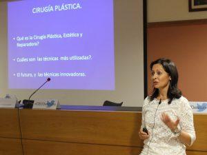 Actividades de la Dra. Moreno en 2015 y 2016